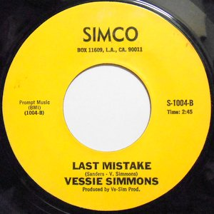 Vessie Simmons - Love Me One More Time