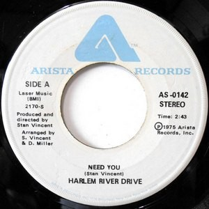 7 / HARLEM RIVER DRIVE / NEED YOU / OVERTIME