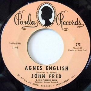 7 / JOHN FRED / AGNES ENGLISH / SAD STORY