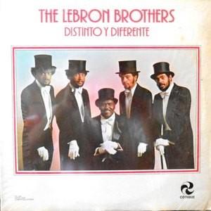 LP / THE LEBRON BROTHERS / DISTINTO Y DIFERENTE