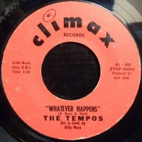 7 / THE TEMPOS / WHATEVER HAPPENS / THE CROSSROADS OF LOVE