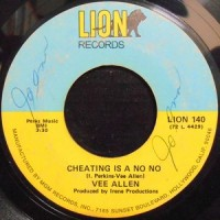 7 / VEE ALLEN / CHEATING IS A NO NO / CAN I