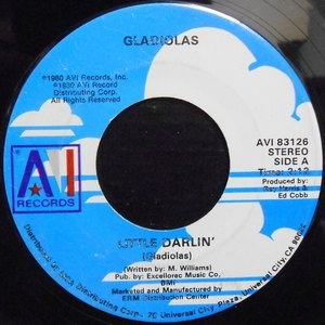 7 / GLADIOLAS / LITTLE DARLIN' / BE BOP GIRL