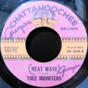 7 / THEE MIDNITERS / HEAT WAVE / SAD GIRL