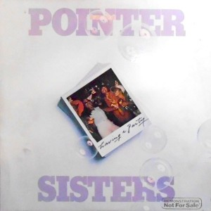 LP / THE POINTER SISTERS / HAVING A PARTY