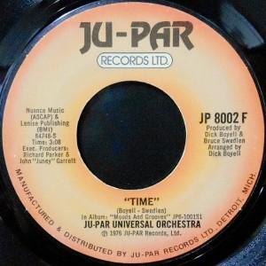 7 / JU-PAR UNIVERSAL ORCHESTRA / TIME / FUNKY MUSIC