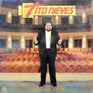 LP / TITO NIEVES / YO QUIERO CANTAR