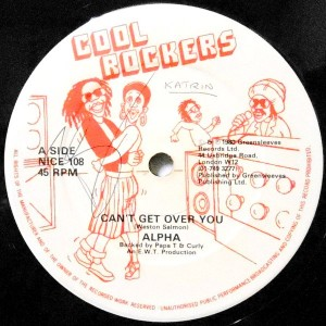 12 / ALPHA / PAPA T & CURLY / CAN'T GET OVER YOU / RISK ACTION DUB
