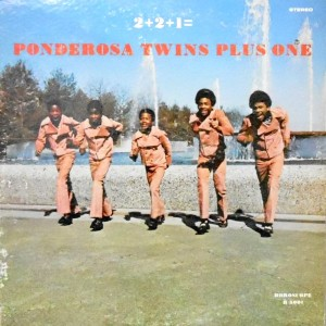 LP / PONDEROSA TWINS PLUS ONE / 2+2+1=