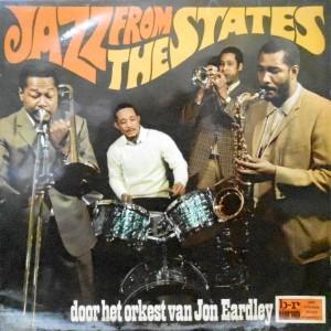LP / JON EARDLEY / JAZZ FROM THE STATES