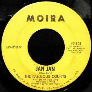 7 / THE FABULOUS COUNTS / JAN JAN / GIRL FROM KENYA