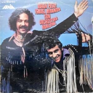 LP / ISMAEL MIRANDA CON ORCHESTRA HARLOW / ABRAN PASO!
