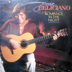 LP / JOSE FELICIANO / ROMANCE IN THE NIGHT