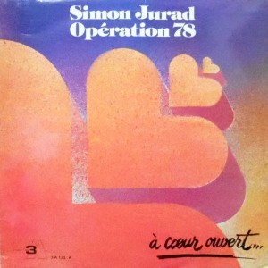 LP / SIMON JURAD OPERATION 78 / A COEUR OUVERT