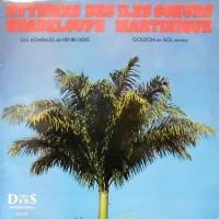 LP / LES KOMBASS DE HENRI DEBS / GODZOM EN SOL MINEUR / RYTHMES DES ILES SOEURS GUADELOUPE MARTINIQUE