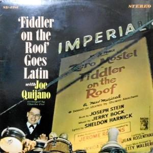 LP / JOE QUIJANO / FIDDLER ON THE ROOF GOES LATIN