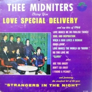 LP / THEE MIDNITERS / BRING YOU LOVE SPECIAL DELIVERY
