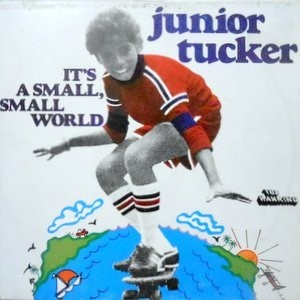 LP / JUNIOR TUCKER / IT'S A SMALL, SMALL WORLD