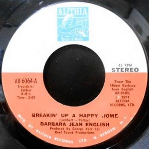 7 / BARBARA JEAN ENGLISH / BREAKIN' UP A HAPPY HOME / GUESS WHO