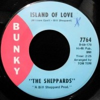 7 / THE SHEPPARDS / ISLAND OF LOVE / STEAL AWAY