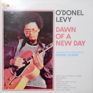 LP / O'DONEL LEVY / DAWN OF A NEW DAY