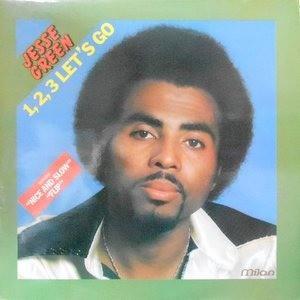 LP / JESSE GREEN / 1,2,3 LET'S GO