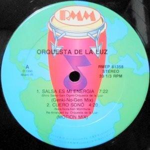 12 / ORQUESTA DE LA LUZ / SALSA ES MI ENERGIA / SALSA CALIENTE DEL JAPON / CUERO SONO