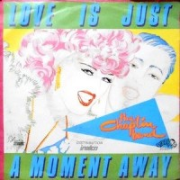 7 / THE CHAPLIN BAND / LOVE IS JUST A MOMENT AWAY / KICKS ON SWING