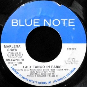 7 / MARLENA SHAW / LAST TANGO IN PARIS / SAVE THE CHILDREN