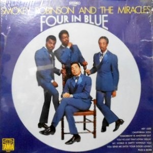 LP / SMOKEY ROBINSON & THE MIRACLES / FOUR IN BLUE