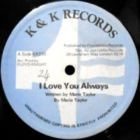 12 / MARIA TAYLOR / I LOVE YOU ALWAYS / SEND-DUB