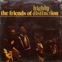 LP / THE FRIENDS OF DISTINCTION / HIGHLY DISTINCT