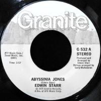 7 / EDWIN STARR / ABYSSINIA JONES / BEGINNING