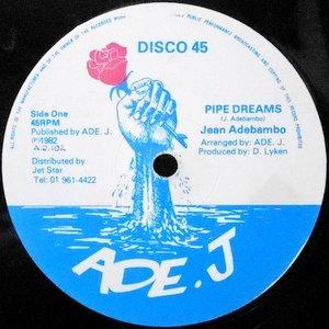 12 / JEAN ADEBAMBO / PIPE DREAMS