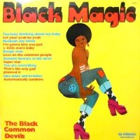 LP / THE BLACK COMMON DEVILS / BLACK MAGIC