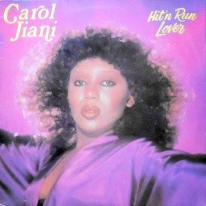 LP / CAROL JIANI / HIT'N RUN LOVER