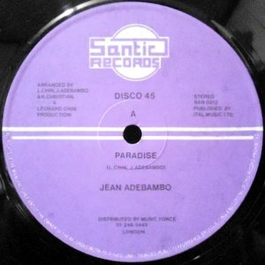12 / JEAN ADEBAMBO / PARADISE / PARA DUB