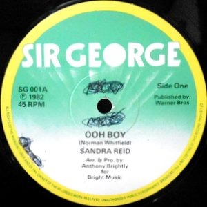 12 / SANDRA REID / ANTHONY BRIGHTLY / OOH BOY / I LOVE YOU