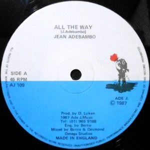 12 / JEAN ADEBAMBO / ALL THE WAY