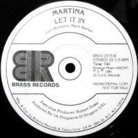 12 / MARTINA / CENTRAL PARK / LET IT IN