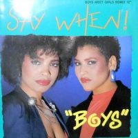 12 / SAY WHEN! / BOYS