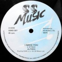 12 / ALTHEA / I NEED YOU / MR. CASANOVA