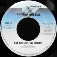 7 / BRENDA RUSSELL / SO GOOD, SO RIGHT / YOU'RE FREE