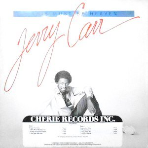 LP / JERRY CARR / THIS MUST BE HEAVEN