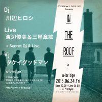 """6/24(金)@三軒茶屋a-bridge TOKYO No.1 SOUL SET presents """"IN THE ROOF"""" にてDJします! 光栄にも、というか、「マジか!」という感じですが、 […]"""