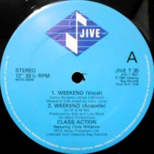 12 / CLASS ACTION / WEEKEND