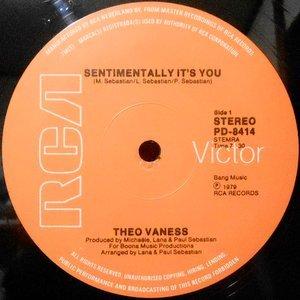12 / THEO VANESS / SENTIMENTALLY IT'S YOU / NO ROMANCE KEEP ON DANCIN'
