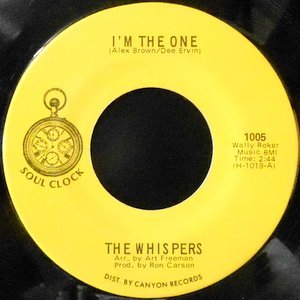 7 / THE WHISPERS / I'M THE ONE / YOU MUST BE DOING ALL RIGHT