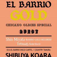 """来たる11/22(火、祝前)、渋谷KOARAにて、 念願の、宮田信さん(BARRIO GOLD RECORDS)Tetsu45 さんをゲストに、 EL BARRIO DISCO 拡大版、その名も、""""EL BA […]"""