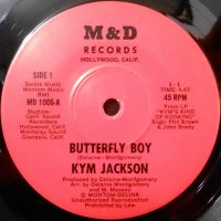 7 / KYM JACKSON / BUTTERFLY BOY / GET UP TO GET DOWN